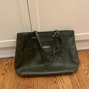Coach olive green purse